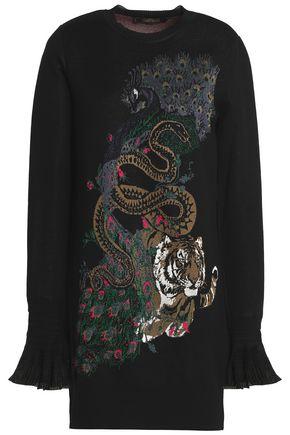 ROBERTO CAVALLI Jacquard-knit sweater
