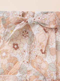 Flower-print shorts