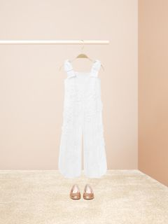 3db86d72838  Flower Embroidered Jumpsuit