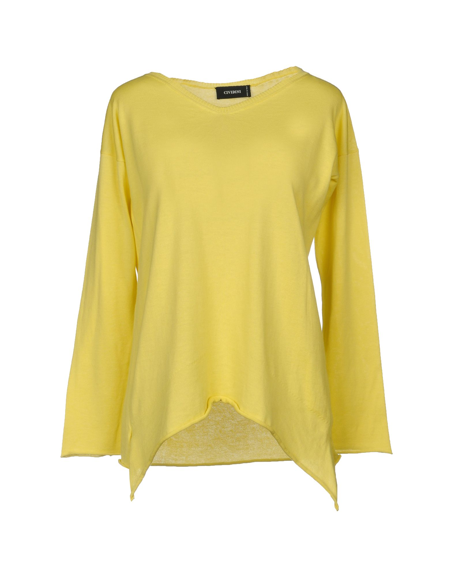 CIVIDINI Sweater in Light Yellow