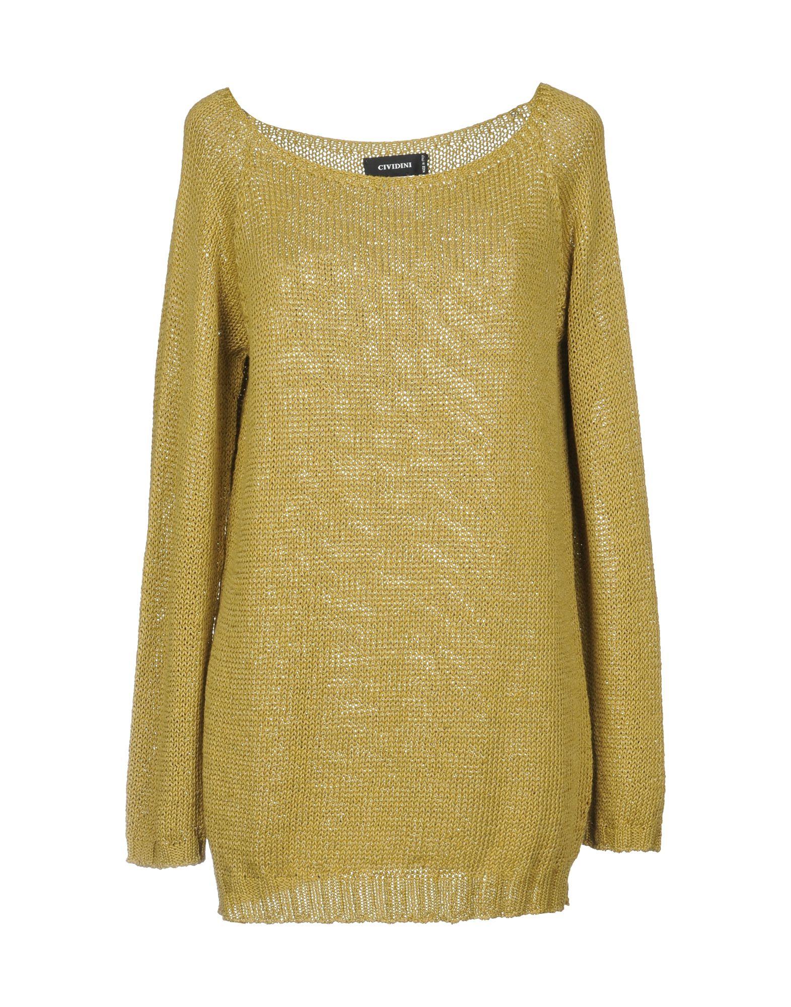 CIVIDINI Sweater in Acid Green