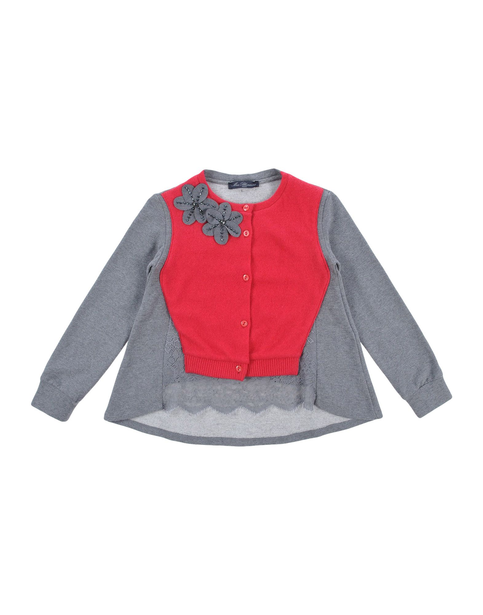 MISS BLUMARINE Sweatshirt in Fuchsia