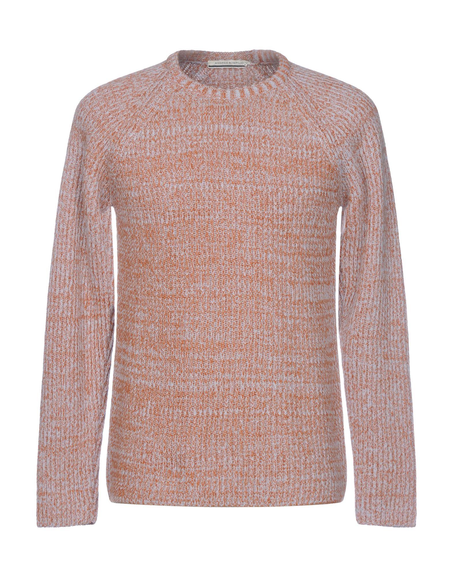 ANDREA POMPILIO Sweater in Orange