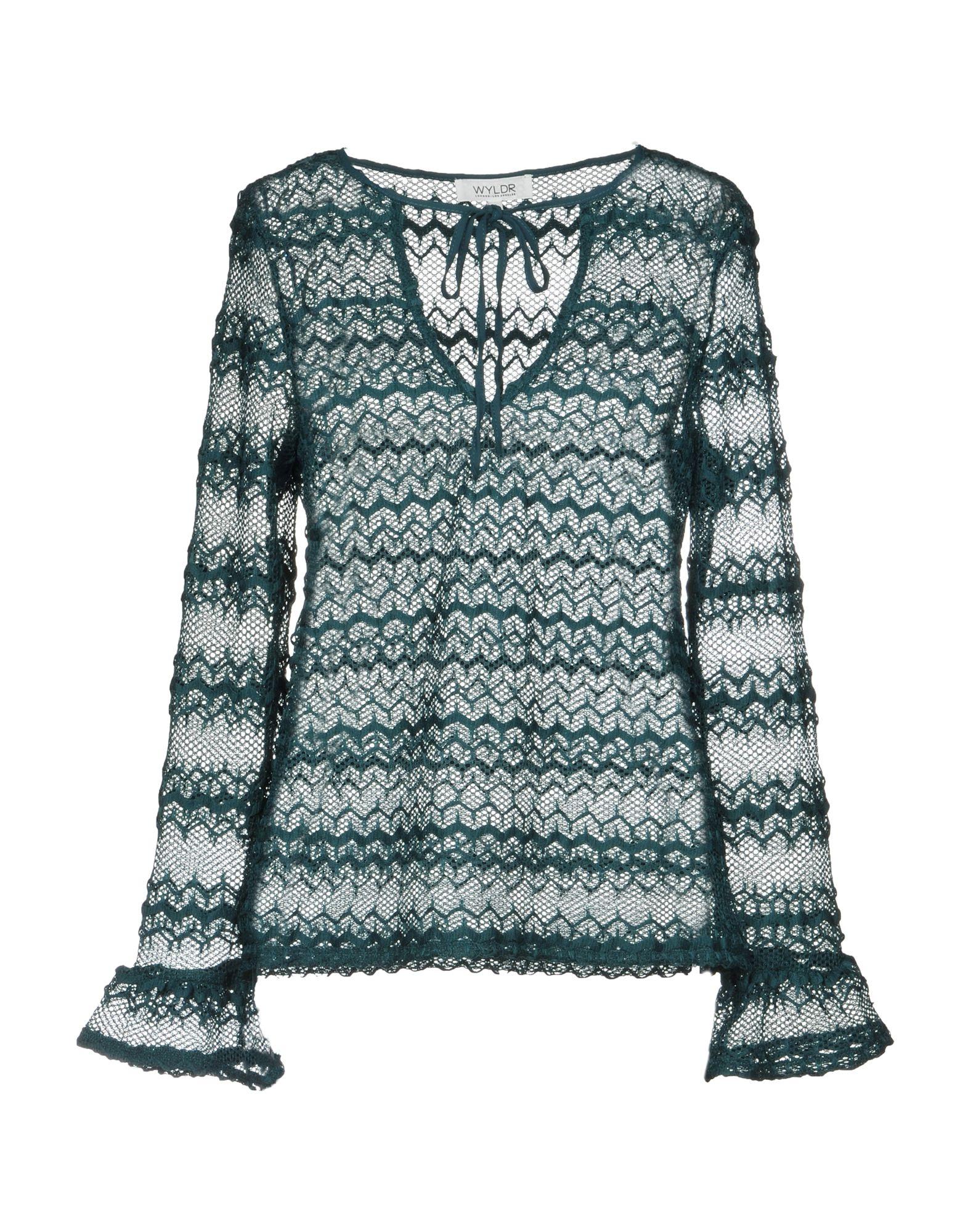 WYLDR Sweater in Emerald Green