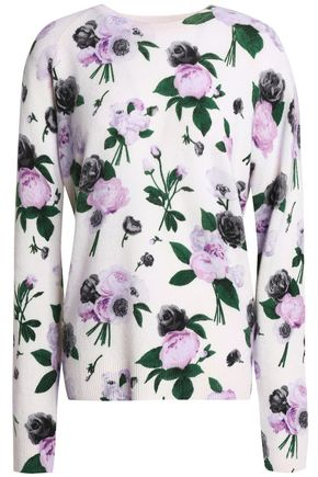 EQUIPMENT Floral-print cashmere sweater
