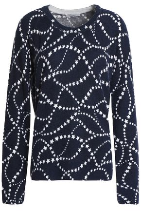 EQUIPMENT Printed cashmere sweater