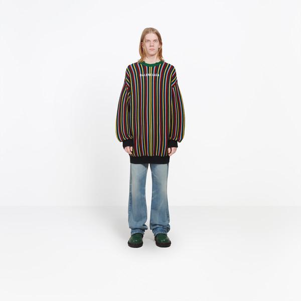 Striped Crewneck