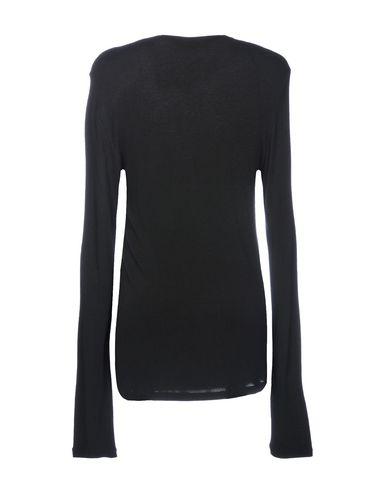 Фото 2 - Женскую футболку LANEUS черного цвета