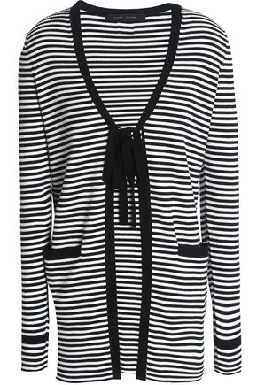 MARC JACOBS Striped cotton cardigan