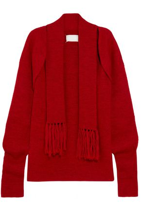 MAISON MARGIELA Draped wool cardigan