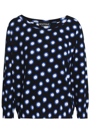 BOUTIQUE MOSCHINO Printed cotton sweater