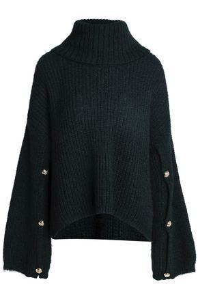 CLAUDIE PIERLOT Ribbed-knit turtleneck sweater