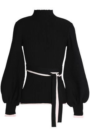 ROKSANDA Ribbed wool-blend turtleneck sweater