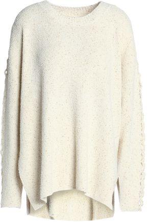 SEE BY CHLOÉ Bouclè-knit cotton-blend sweater