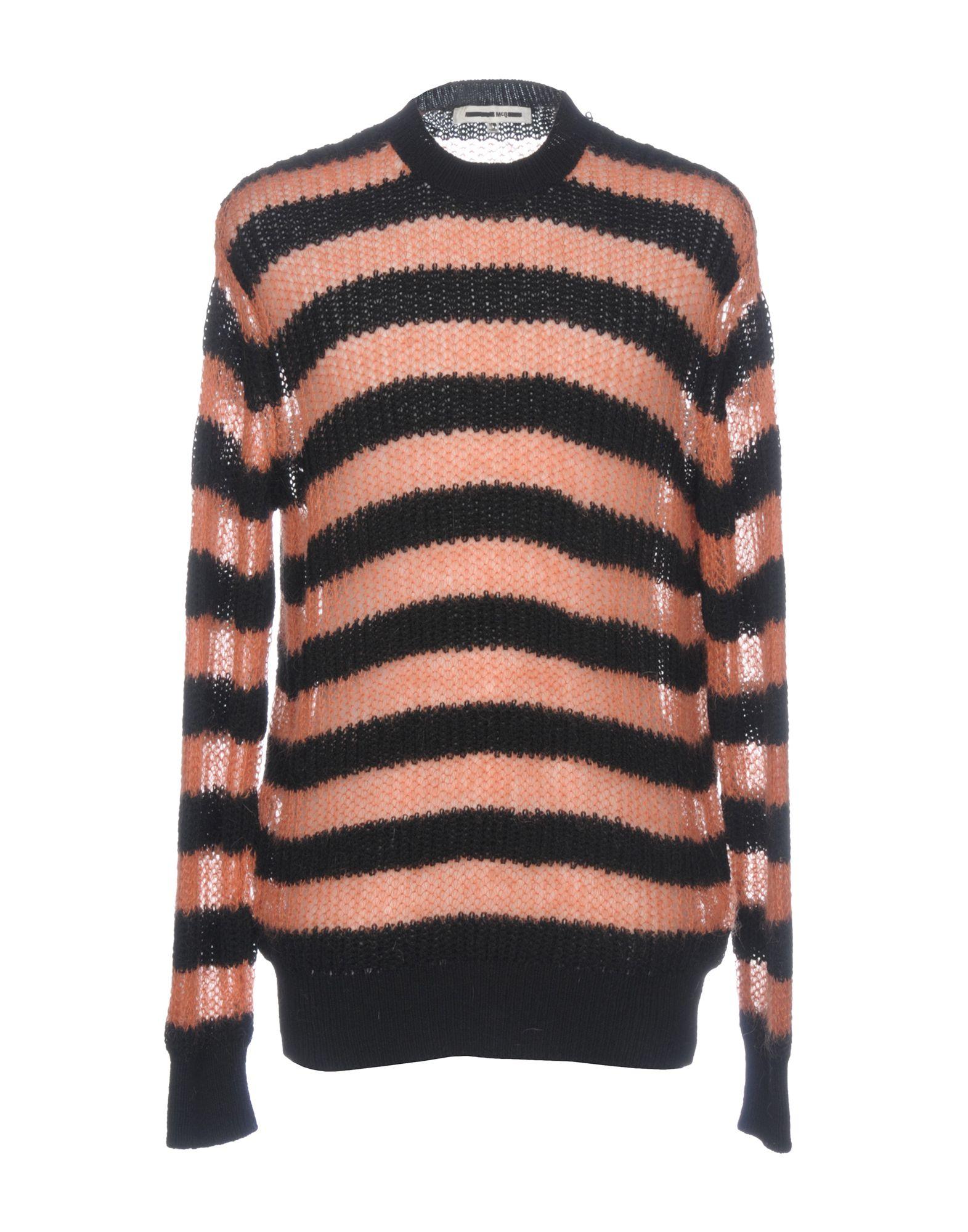 McQ Alexander McQueen Свитер мужской свитер в полоску 52
