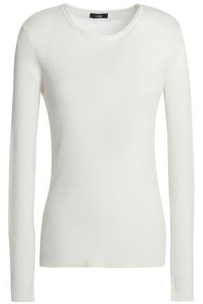 LINE Ribbed cotton-blend sweater