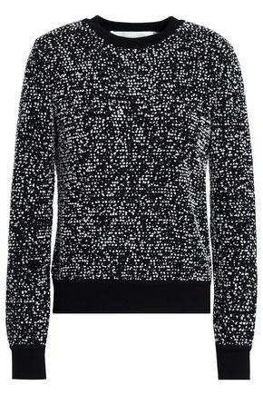 VICTORIA, VICTORIA BECKHAM Bouclé-knit wool-blend sweater