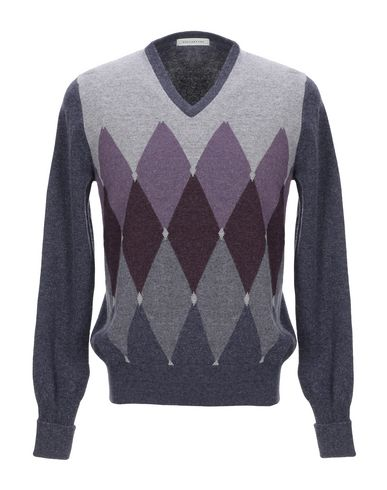 Фото - Мужской свитер  фиолетового цвета