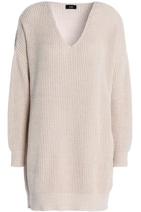 LINE Oversized cotton sweater