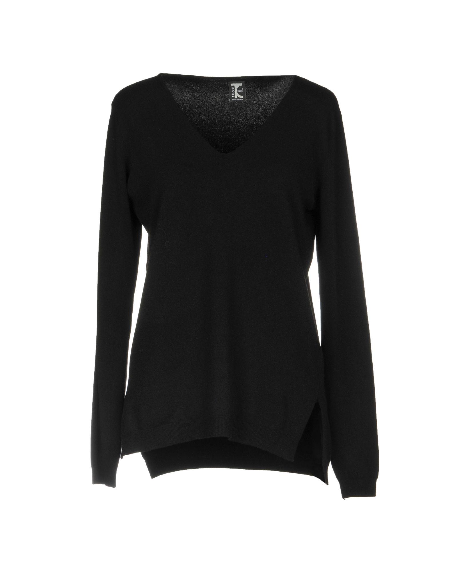 TRICOT CHIC Свитер chic plain v neck chiffon blouse
