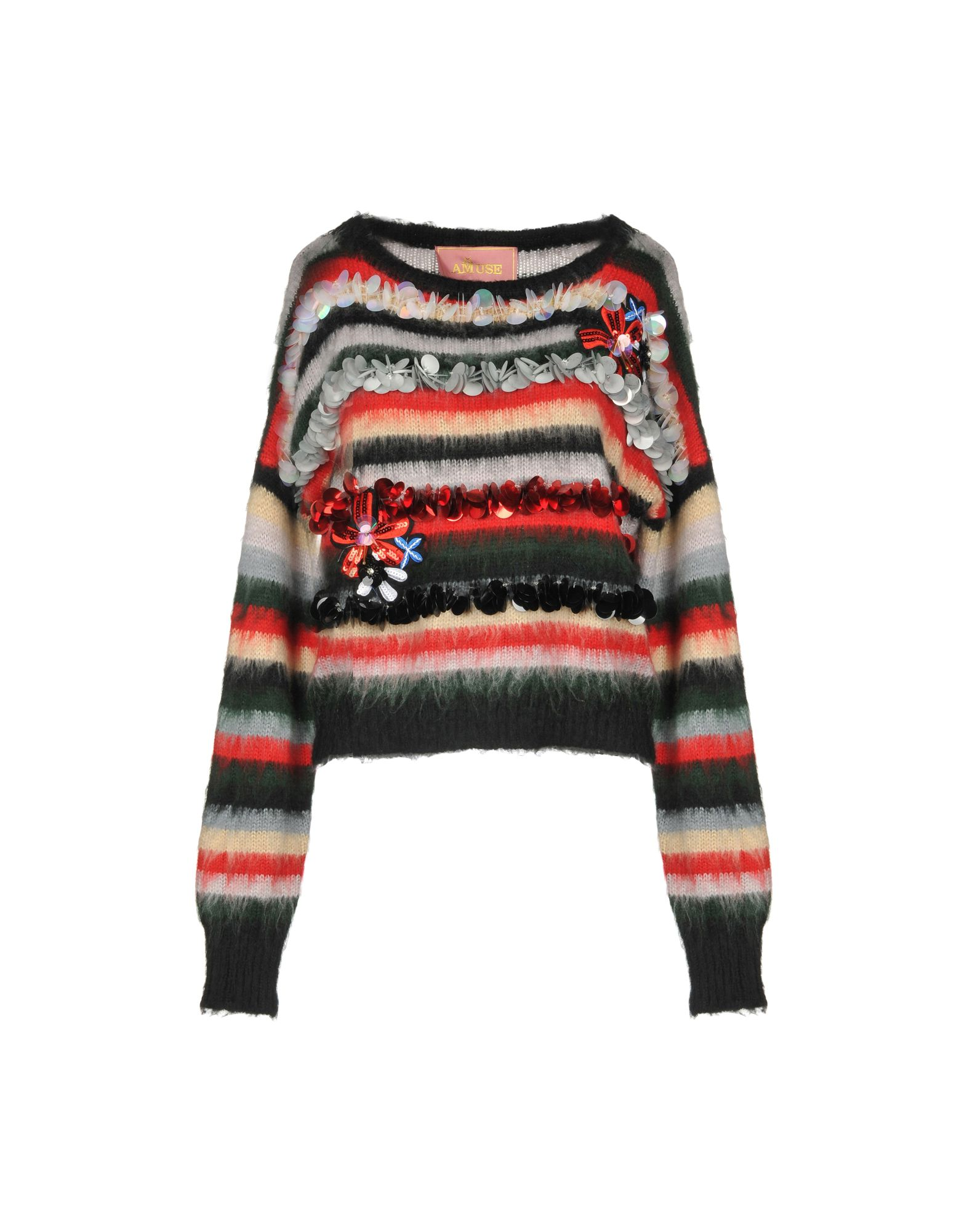 AMUSE Sweater in Red