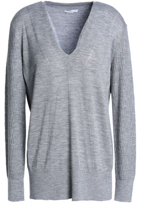 TOME Wool, silk and cashmere-blend top