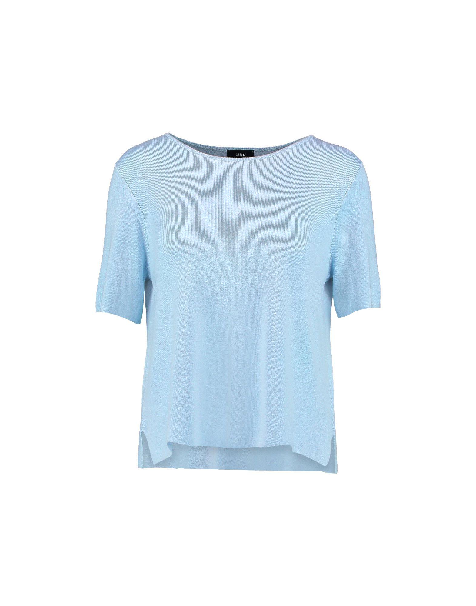 LINE Sweater in Sky Blue