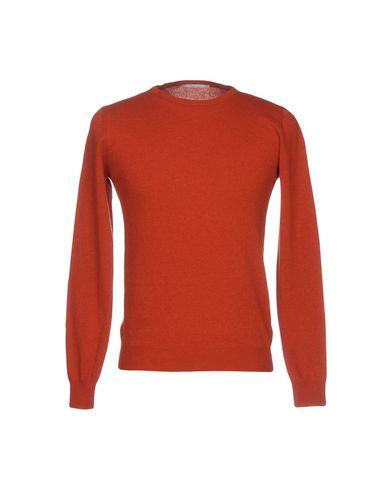 Купить Мужской свитер INDIVIDUAL ржаво-коричневого цвета