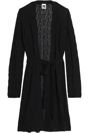 M MISSONI Pointelle-knit wool-blend cardigan