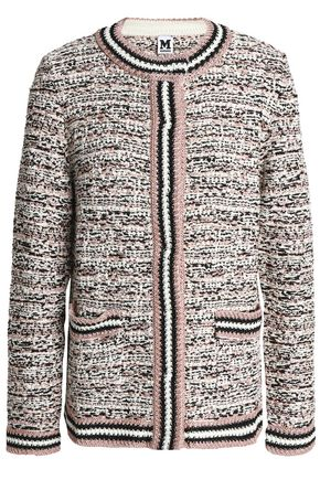 M MISSONI Metallic bouclé-knit cardigan