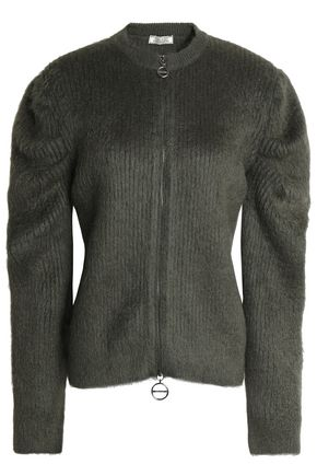 NINA RICCI Brushed wool-blend cardigan