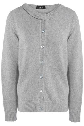 A.P.C. Merino wool, cashmere and mohair-blend cardigan
