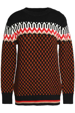 COACH Jacquard-knit wool sweater