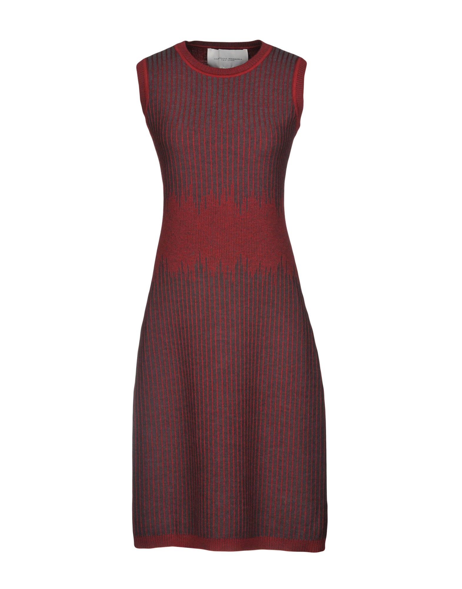 CAROLINA HERRERA Платье до колена carolina herrera платье длиной 3 4
