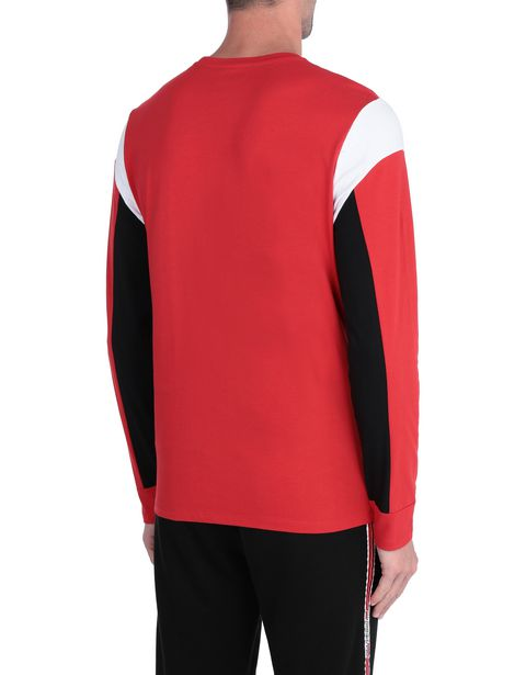 Long-sleeved men's jumper in jersey