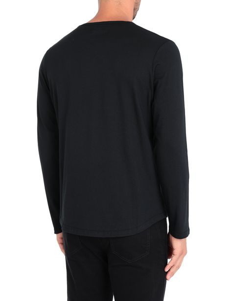 Cotton jersey long-sleeve T-shirt