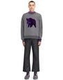 "LANVIN Knitwear & Sweaters Man EMBROIDERED ""BOAR"" SWEATSHIRT f"