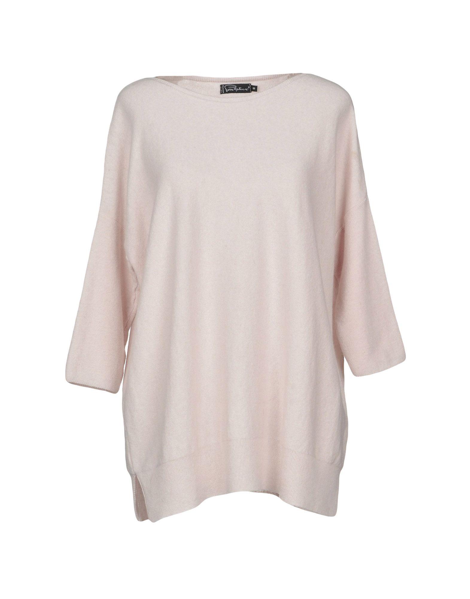 PIERRE MANTOUX Sweater in Light Pink
