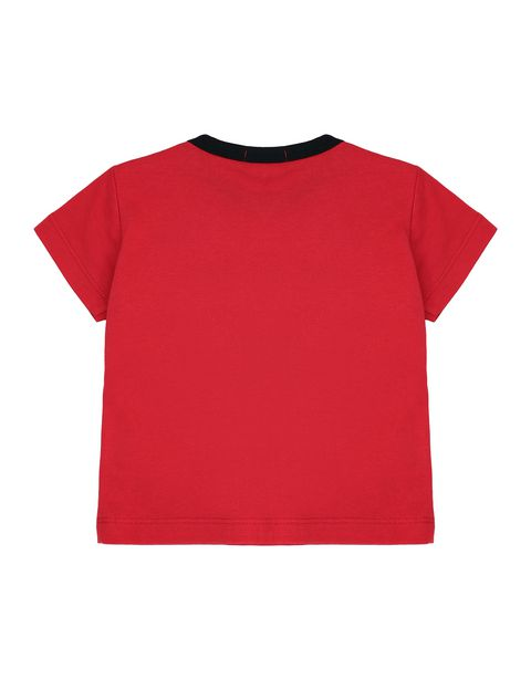 Cotton infant T-shirt with print