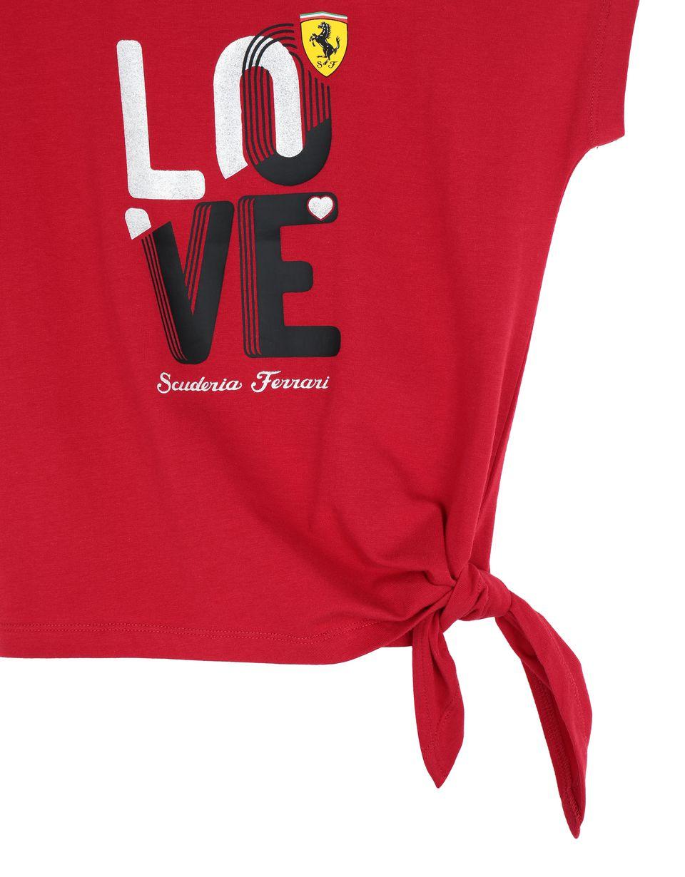 Scuderia Ferrari Online Store - Camiseta LOVE para chica - Camisetas de manga corta