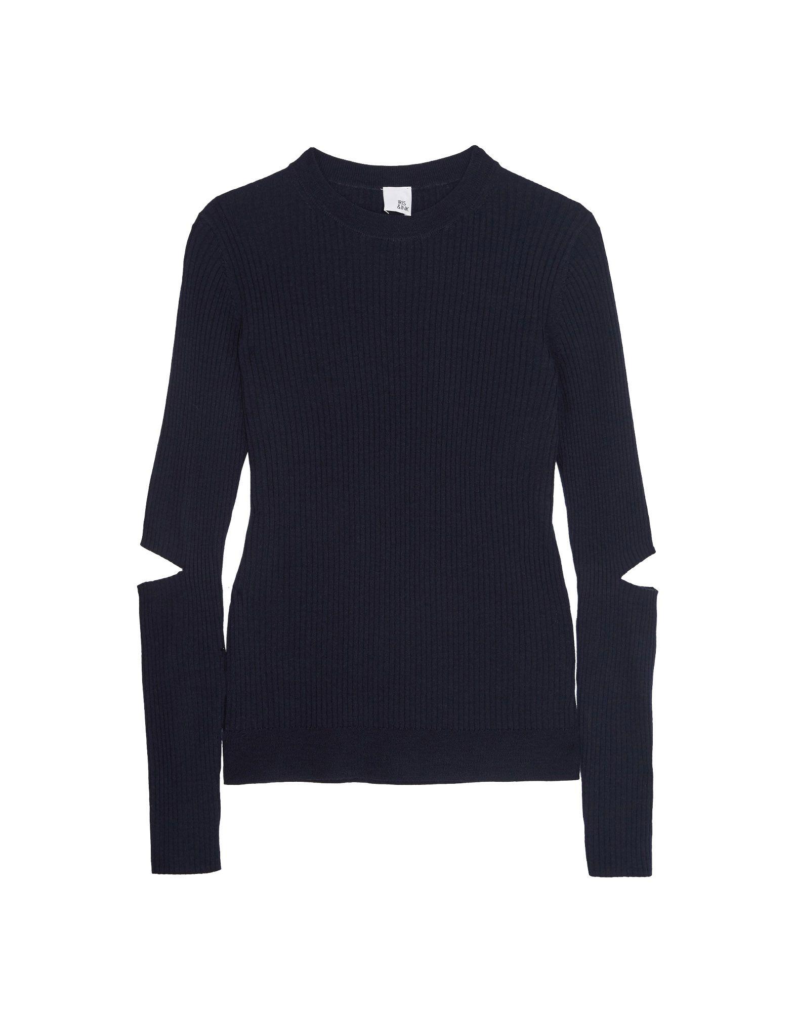 IRIS & INK Sweater in Dark Blue