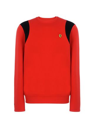 Scuderia Ferrari Online Store - Men's crew neck jumper - Crew Neck Jumpers