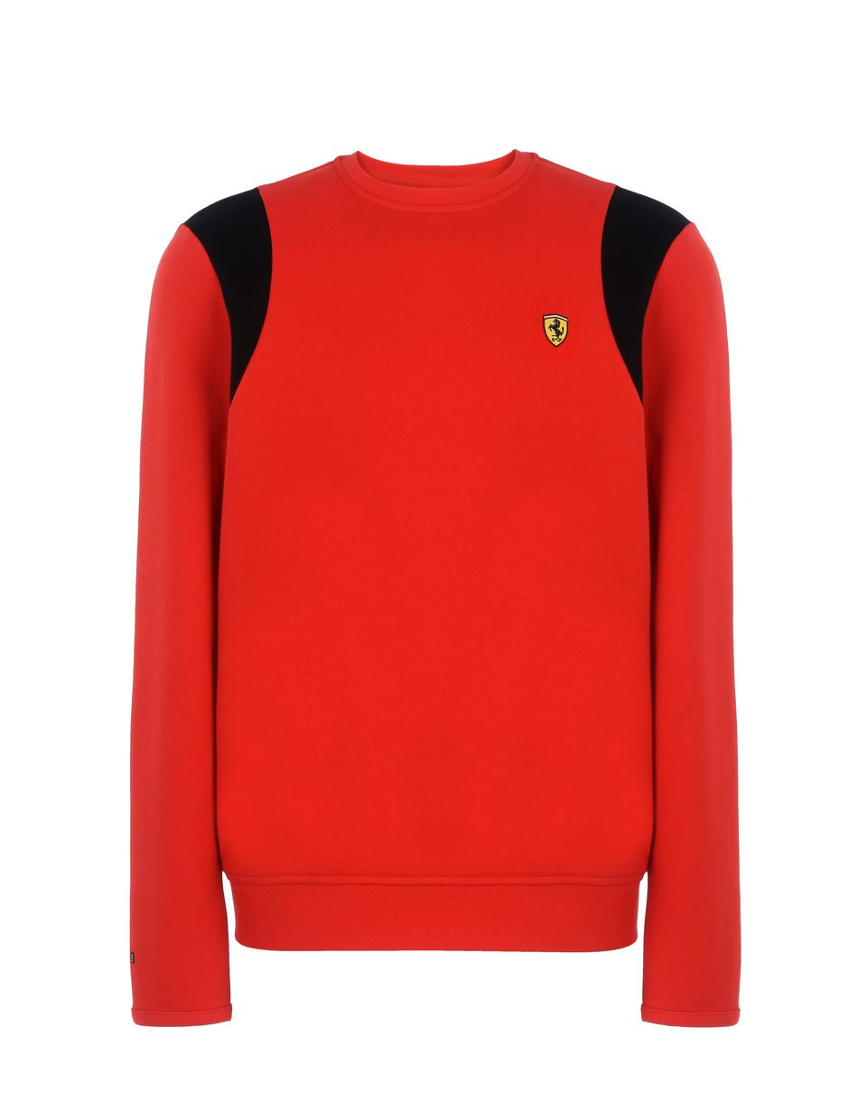 Scuderia Ferrari Online Store - Men's crew neck sweater - Crew Neck Sweaters