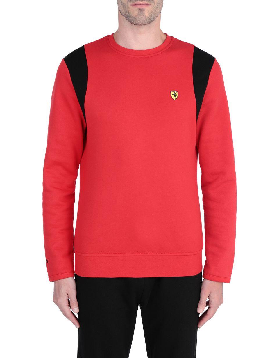 Scuderia Ferrari Online Store - Herrenpullover mit Rundhalsausschnitt - Rundhalspullover