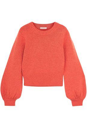 CHLOÉ Gathered cashmere sweater