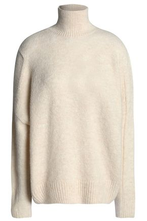 MAJE Knitted turtleneck sweater