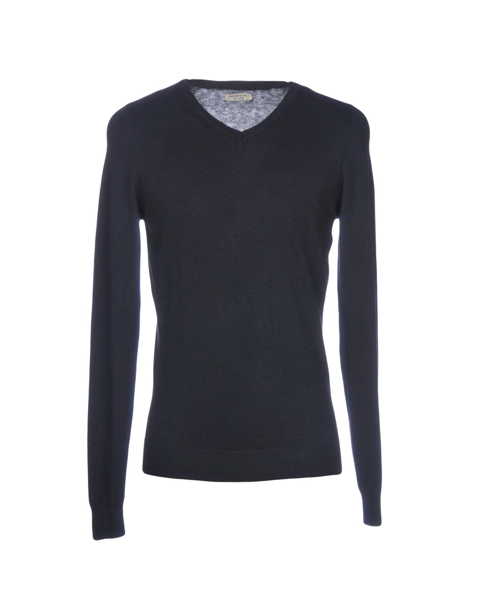 RANSOM Sweater in Dark Blue