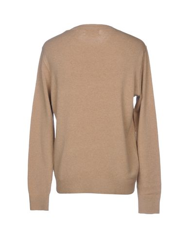 Фото 2 - Мужской свитер  цвет песочный