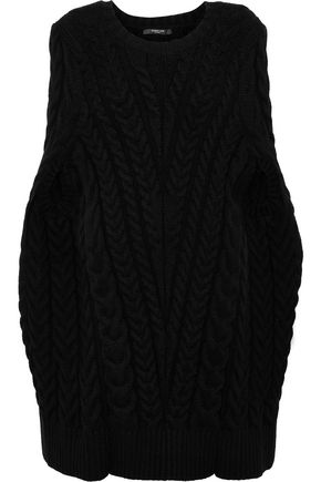 DEREK LAM Cable-knit wool-blend sweater