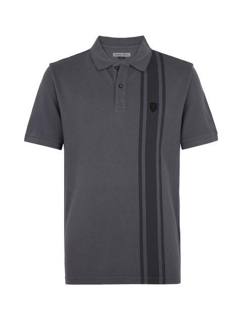 Scuderia Ferrari Online Store - プリント入り半袖ポロシャツ - ポロシャツ